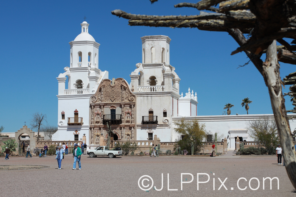 The San Xavier Mission