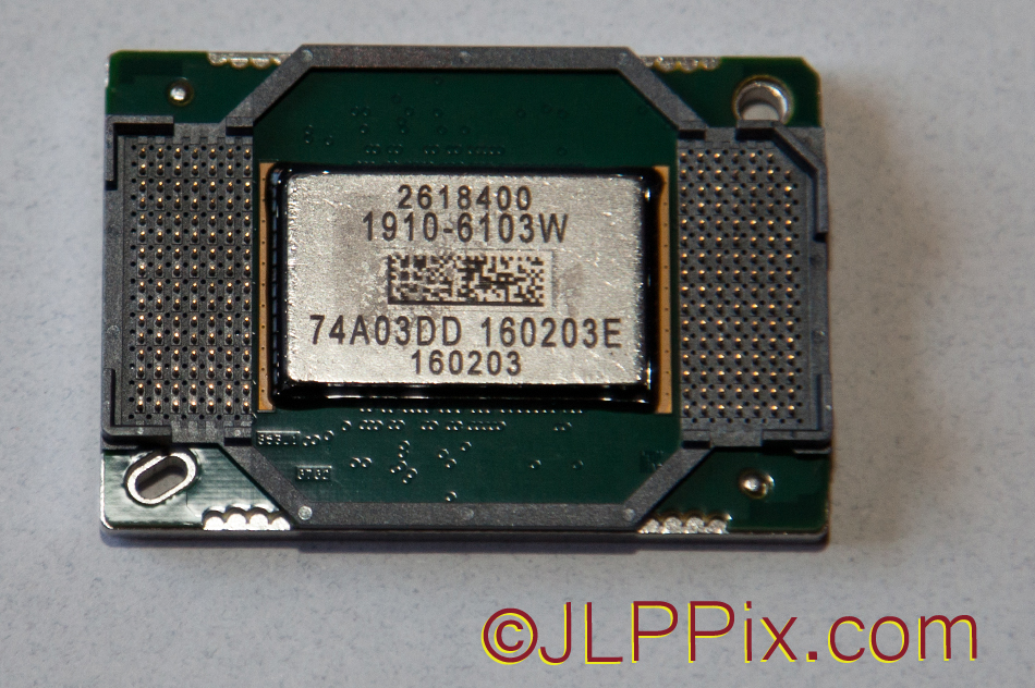 DLP Chip back with pins