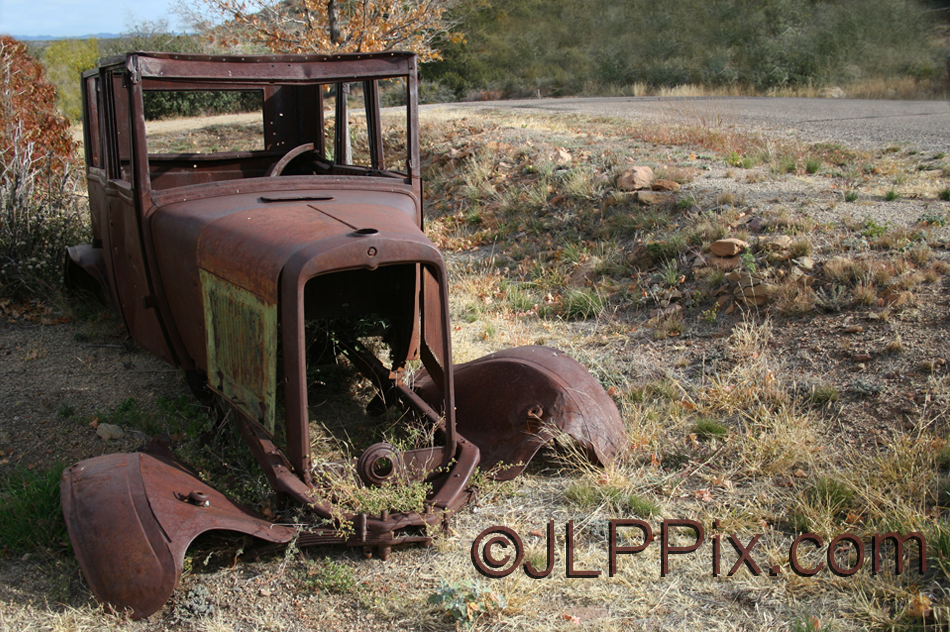 Old Car Yarnell 2